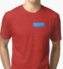 spider man homecoming  Tri-blend T-Shirt