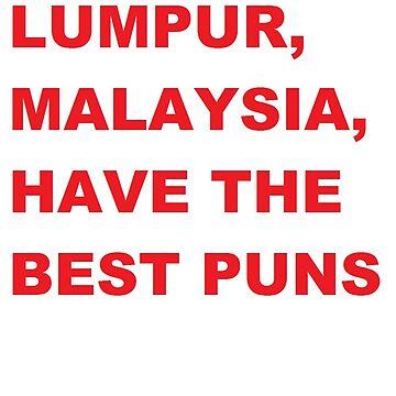 Koala Lumpur, Malaysia have the best puns. by AshokaChowta