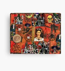 Frida's World Canvas Print