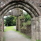 Castle Arches by kalaryder
