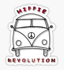 Hippie Revolution Bus Sticker