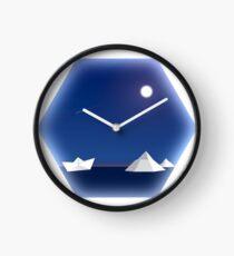 Geometric Antarctic Nights Clock