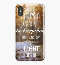 Forget Your Perfect Offering iPhone Case/Skin