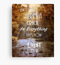 Forget Your Perfect Offering Canvas Print