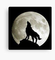 Game Thrones Wolf Stark 3 Canvas Print