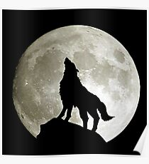 Game Thrones Wolf Stark 3 Poster