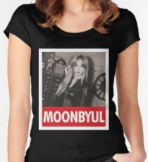Camiseta entallada de cuello redondo MAMAMOO - Moonbyul