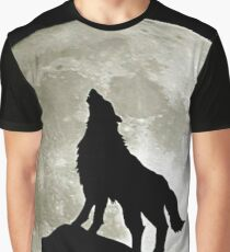 Game Thrones Wolf Stark 3 Graphic T-Shirt
