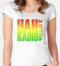 K Jah Radio Women's Fitted Scoop T-Shirt