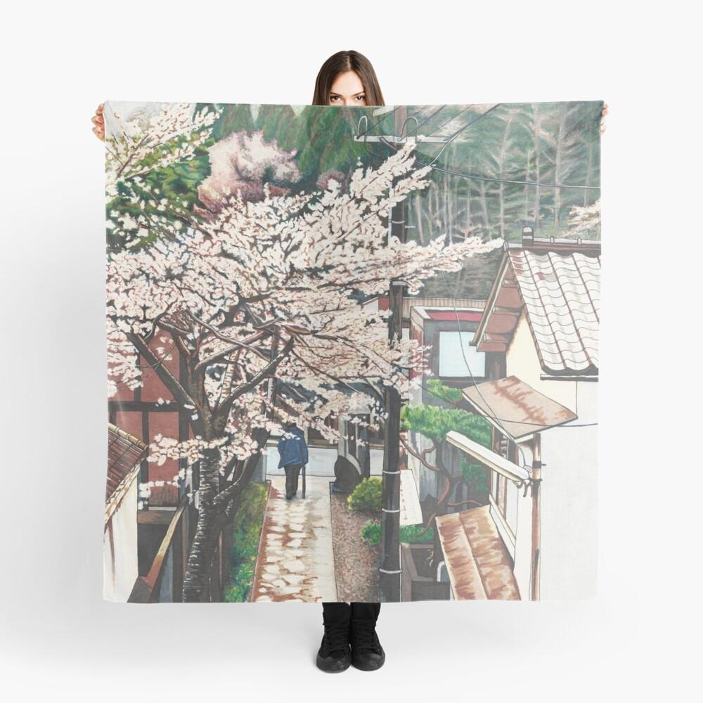 Pasando por Cherry Blossoms Pañuelo