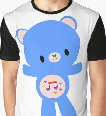 Heart Song Bear Graphic T-Shirt