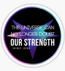 Prince Lotor Quote Sticker