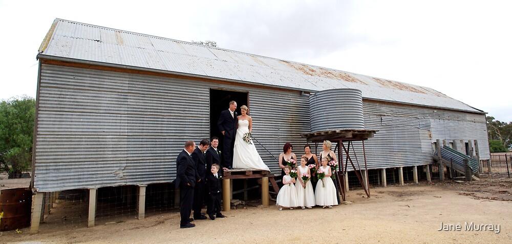 bush wedding near stawell 2007 by Jane Murray