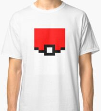 Pokeball Pixel Design - Many Items Available Classic T-Shirt