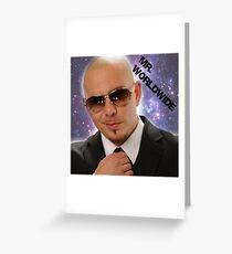 Mr.Worldwide / Pitbull / Grußkarte