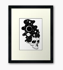Space Brains Framed Print