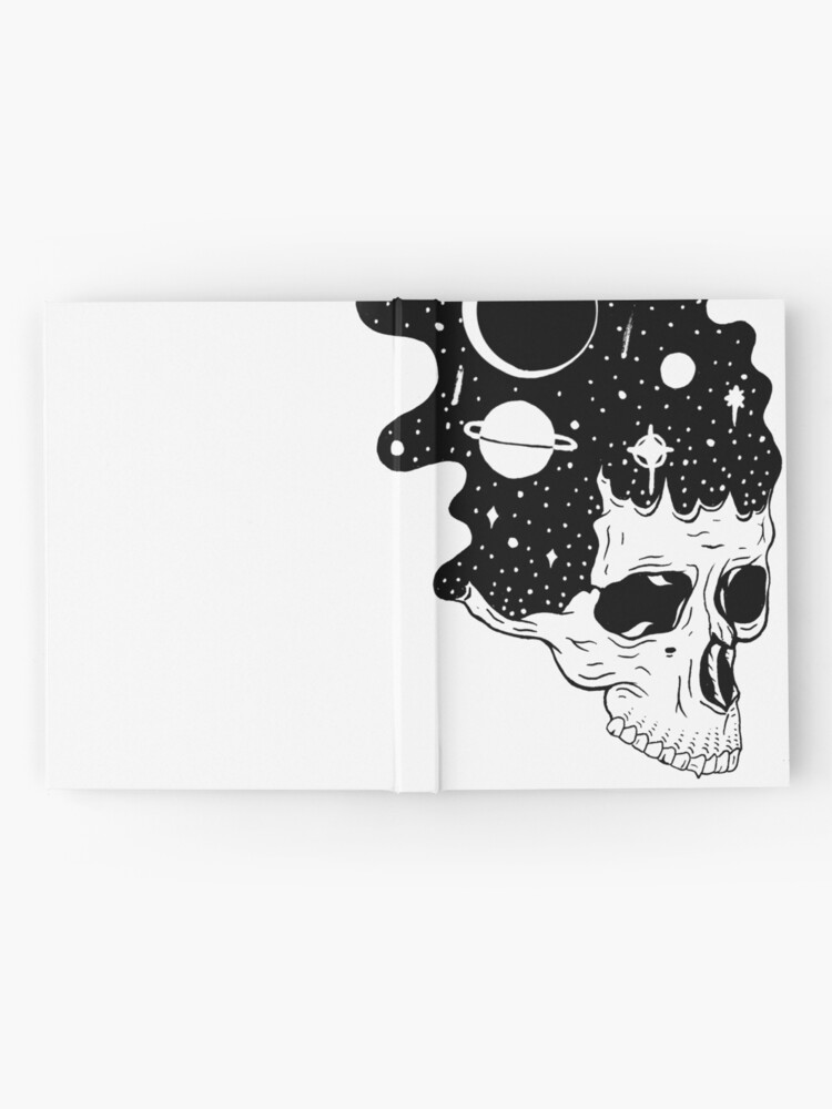 Alternate view of Space Brains Hardcover Journal