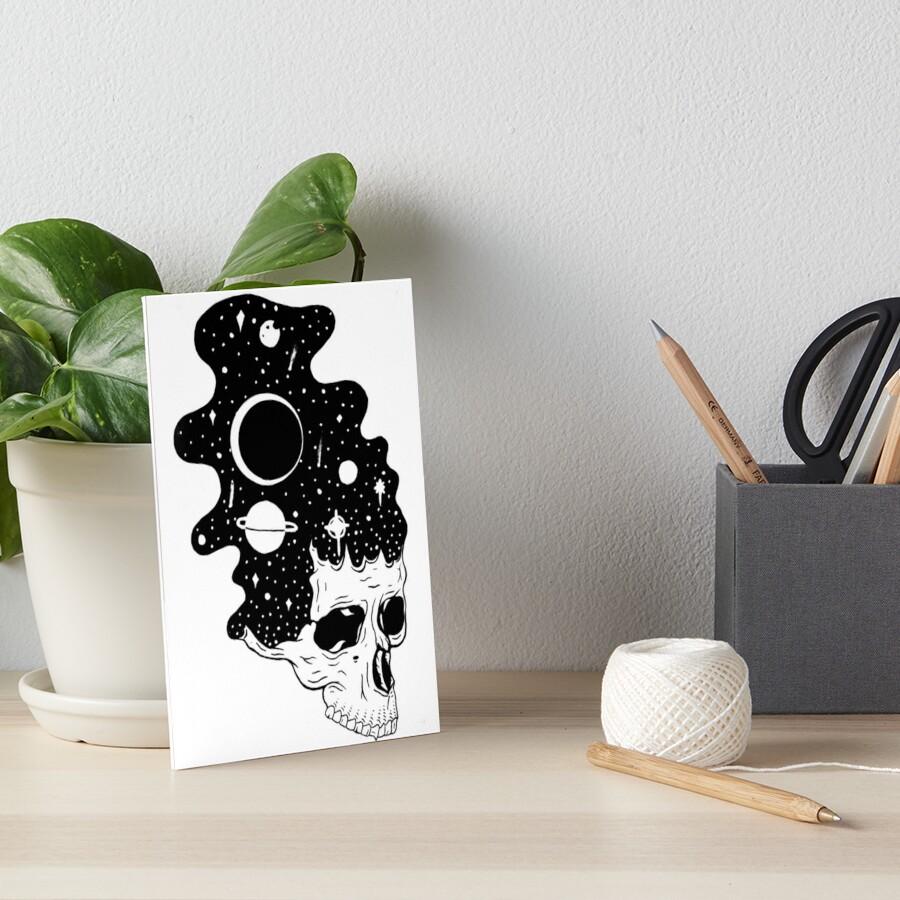 Space Brains Art Board Print