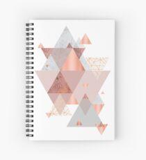 Cuaderno de espiral Blush Pink Geo