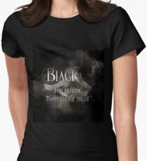 BLACK for hunting through the night. Shadowhunter Children's Rhyme T-Shirt