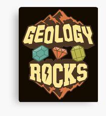 Geology Rocks Canvas Print