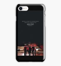 """glee: """"being a part of something special makes you special"""" phone case iPhone Case/Skin"""