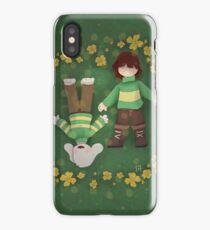 Asriel and Chara Phone Case (Undertale) iPhone Case/Skin