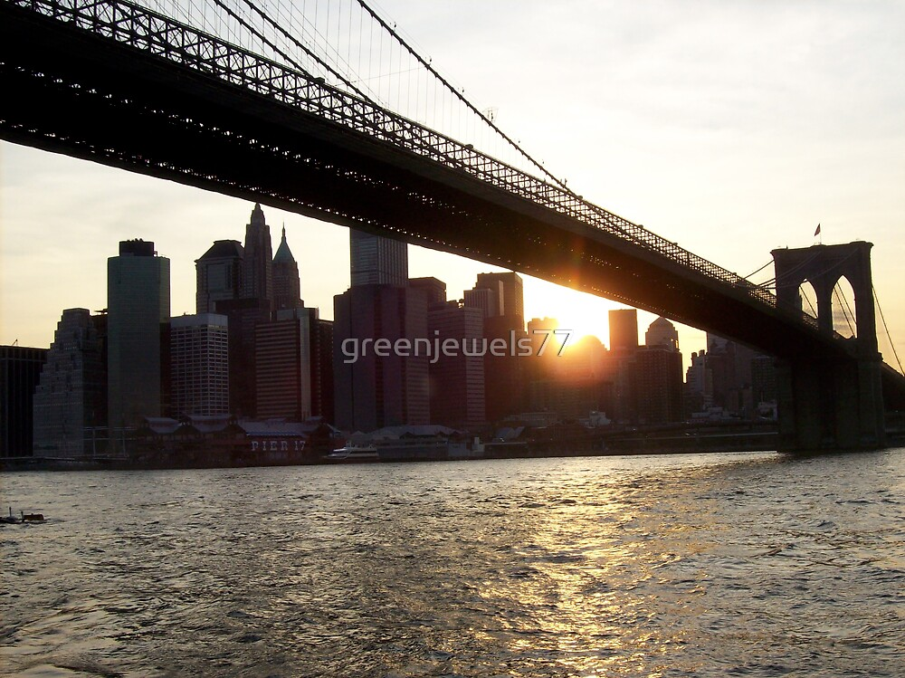Brooklyn View: East River Slant by greenjewels77