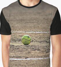 Softball Field Graphic T-Shirt