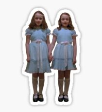 Zwillinge vom Glänzen Sticker