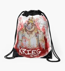voices in my head Drawstring Bag