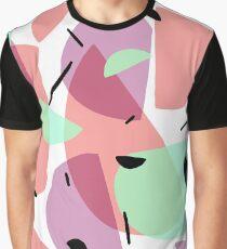 Retro 80s Pastel Graphic T-Shirt