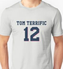 "New England ""Tom Terrific"" Design T-Shirt"