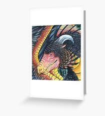 Chicken dragon Greeting Card