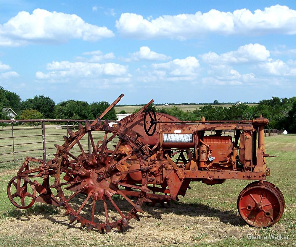 Old Farmall Tractor by Glenna Walker
