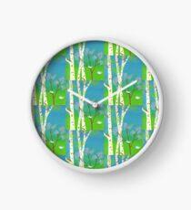 Trees In Bloom Clock
