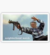 Neighborhood Watch  Sticker