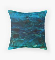 Reef and Rainforest dreamscape Throw Pillow
