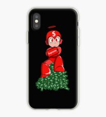 Mega-man Supreme iPhone Case