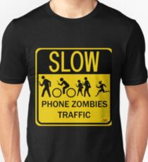 Phone Zombies Traffic T-Shirt