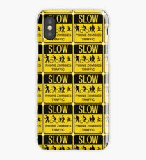 Phone Zombies Traffic iPhone Case/Skin