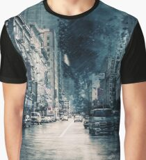 Storm in the City Graphic T-Shirt