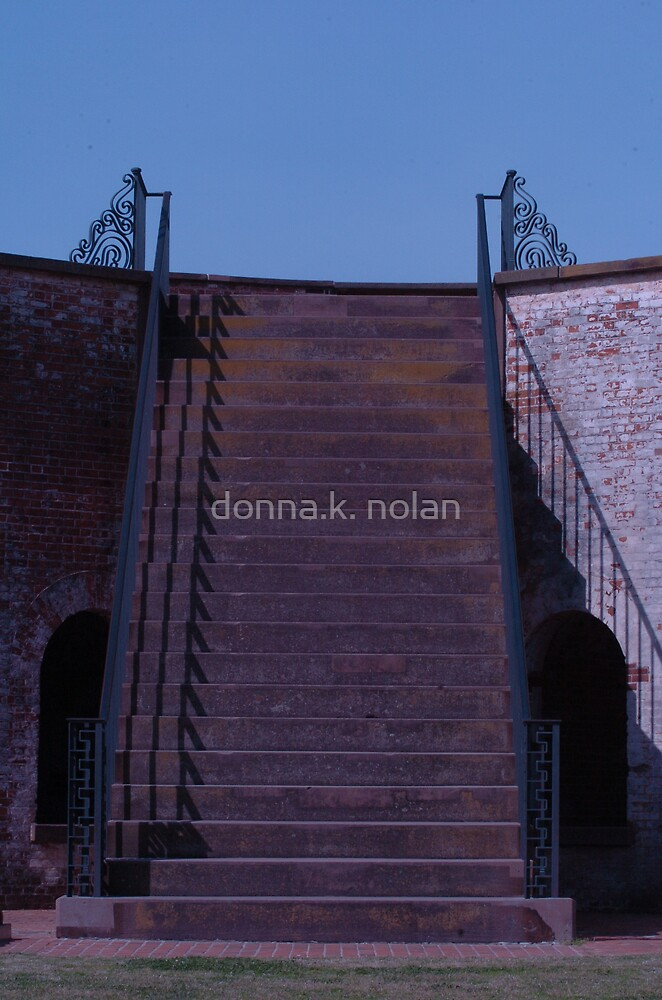 shadows & stairs. . . by donna.k. nolan