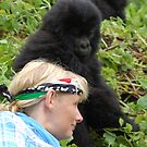 Touched by Gorillas by ApeArt