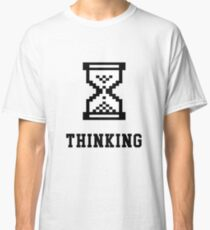 Thinking Retro Premium shirt for Nerds, IT Managers & Geeks Classic T-Shirt
