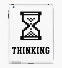 Thinking Retro Premium shirt for Nerds, IT Managers & Geeks iPad Case/Skin