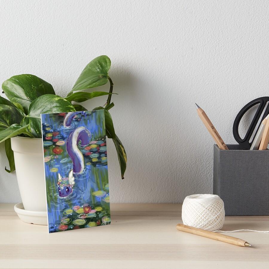 Monet Dragonair Lilies by spoonychan