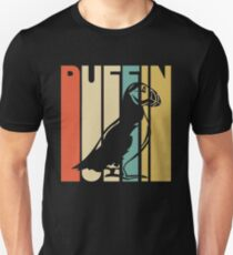 Vintage Style Puffin Silhouette Shirt Unisex T-Shirt