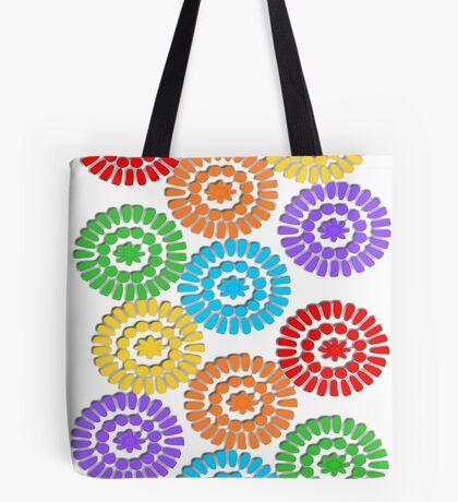 rainbow circle pattern ( 1112 Views) Tote Bag