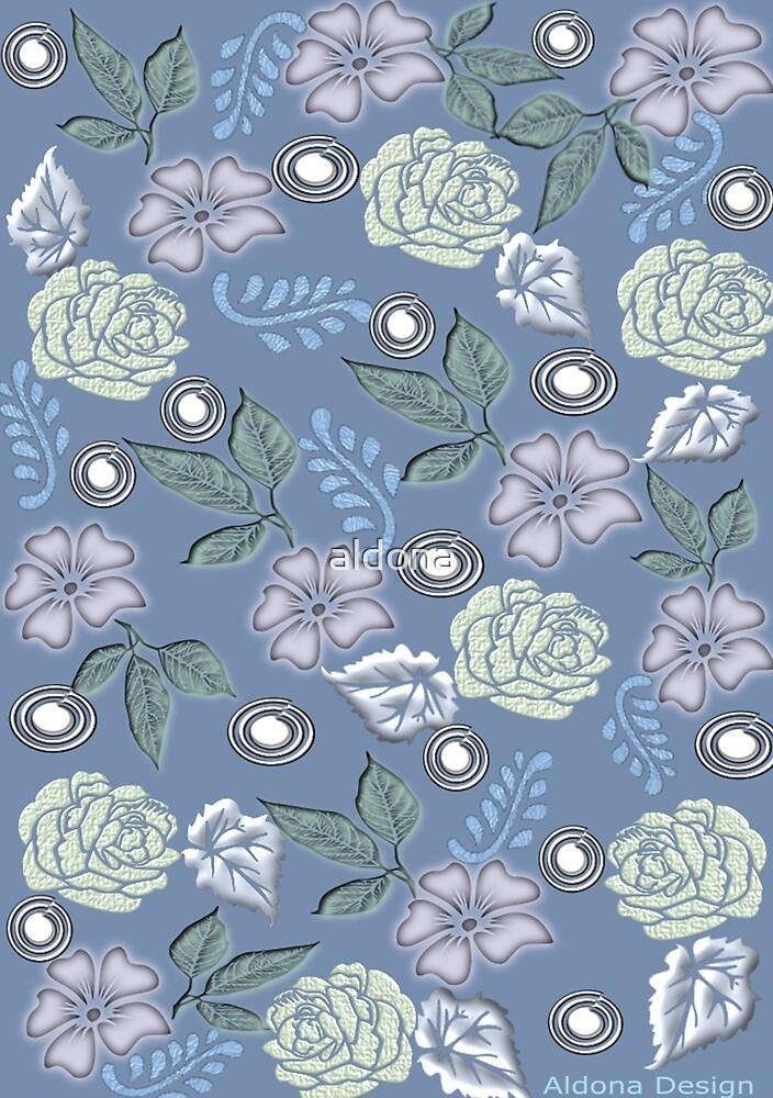 Leaf & Flower Pattern by aldona
